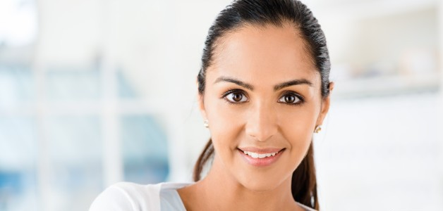 Women with smile