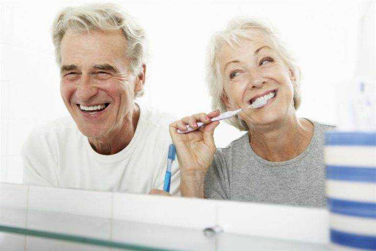 oral health for old people