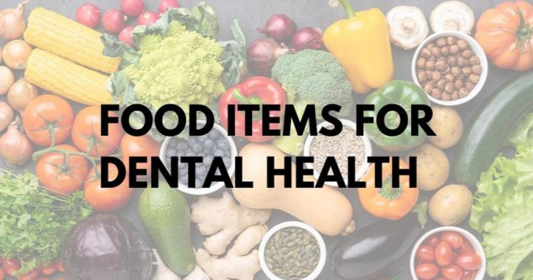 what to eat when you dental issue