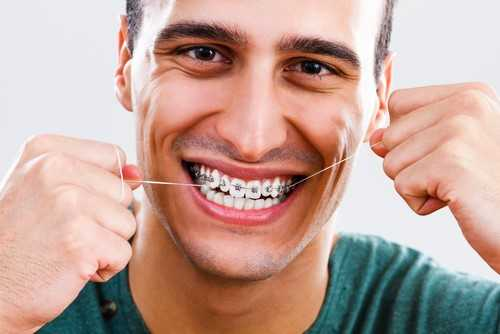 floss-with-braces