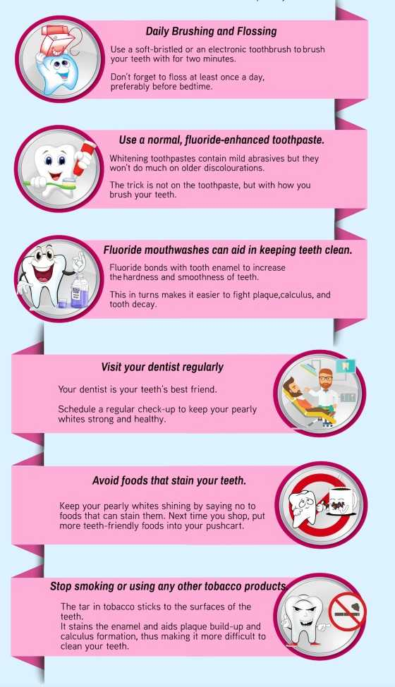 how to remove yellow teeth