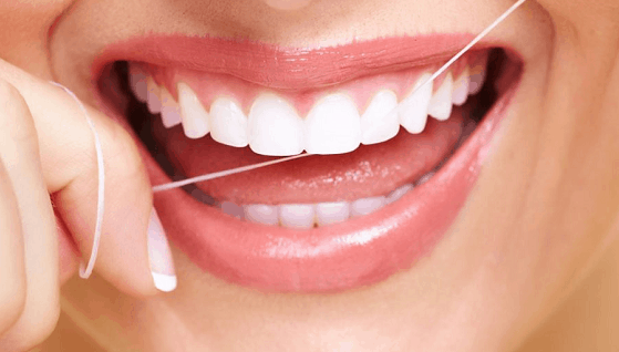 oral hygiene - flossing