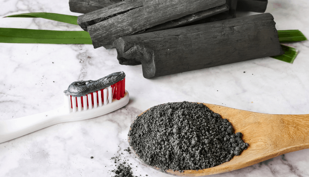 teeth cleaning with charcoal