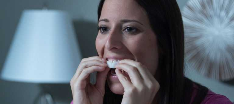 mouthguard for clenching teeth at night