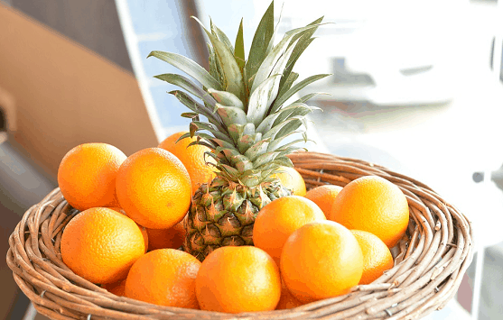 oranges & pineapples
