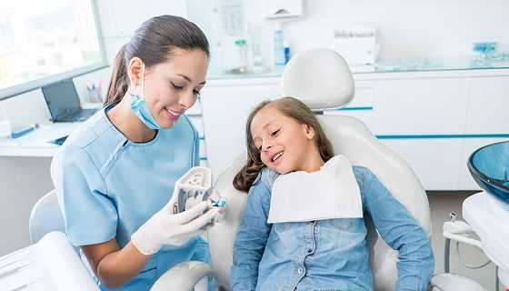 Talk with child before their braces are fitted