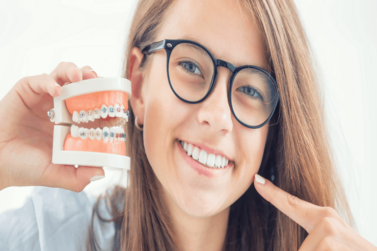 How to correct an overbite