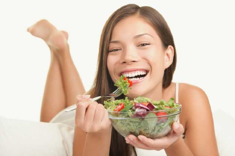 healthy gums with nice food habits