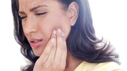 Extreme tooth pain