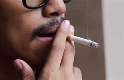 धूम्रपान या तंबाकू चबाना